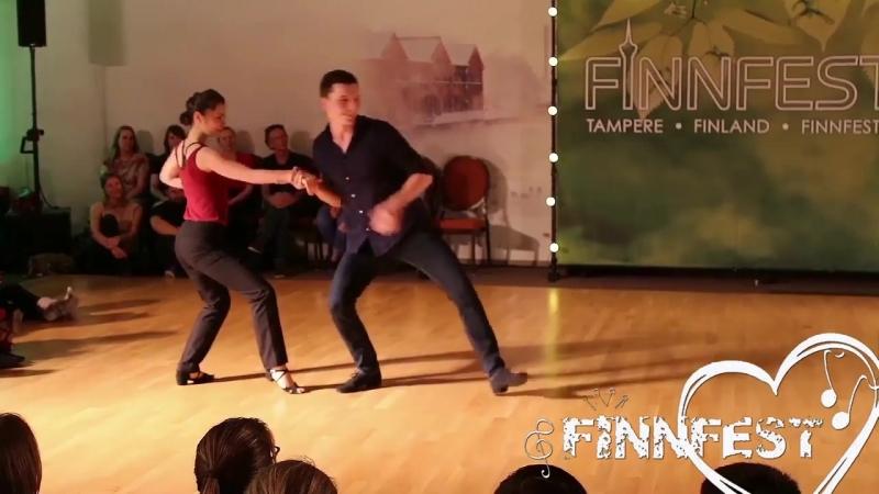 Семён Овсянников и Мария Елизарова — Finnfest 2018 Pro Show Demo