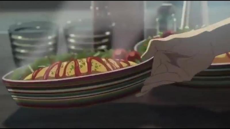 Makoto Shinkai knows how to make you hungry
