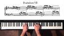 Bach Prelude and Fugue No 7 Well Tempered Clavier Book 1 with Harmonic Pedal