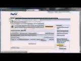 Регистрация PayPal, привязка и верификация карты.
