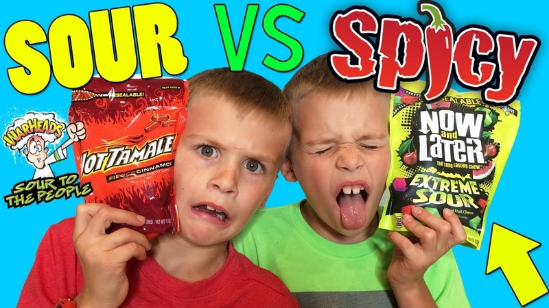 Twins SPICY vs SOUR Challenge!