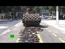 Катком по карабинам: в Бразилии уничтожили более 2000 единиц оружия