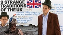 Strange unusual traditions of the United Kingdom