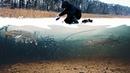 АТАКА ЩУКИ И ОНДАТРЫ НА ПЛОТВУ Зимняя рыбалка на жерлицы Подводная съемка