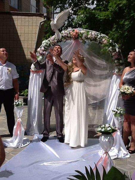 Весільна арка на прокат