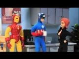 Почему Черная Вдова в Мстителях (VHS Video)