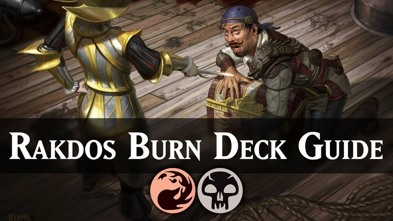 Rakdos Burn | Guilds of Ravnica Standard Deck Guide [MTG ARENA]