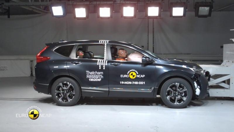Euro NCAP Crash Test of Honda CR V 2019