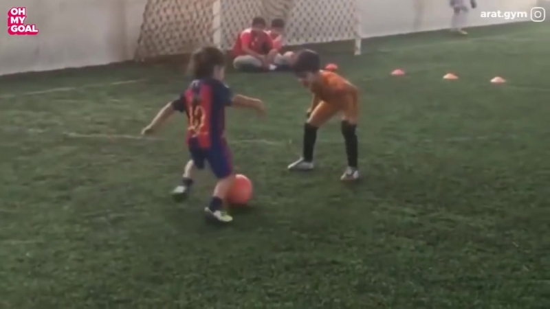 5 year old Arat is a future football superstar ❤️⚽️