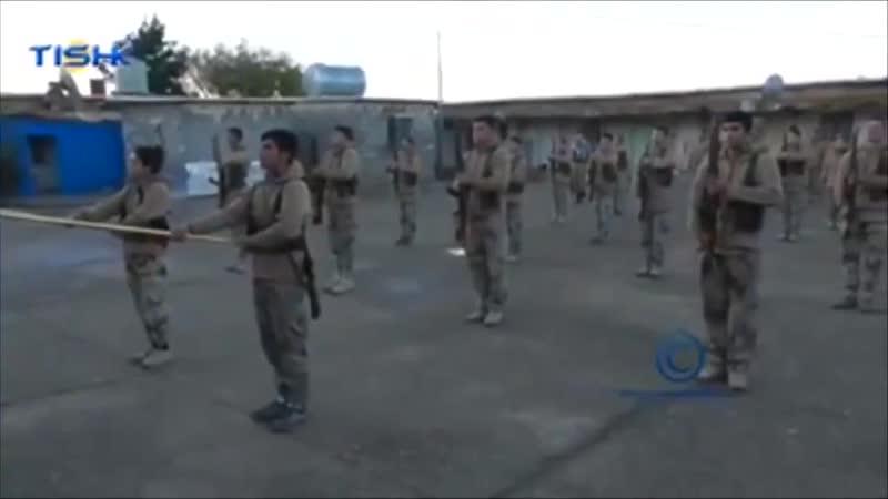 Пешмерга Рожхилата(провинции Курдистан в Иране) подготовили ещё один отряд.