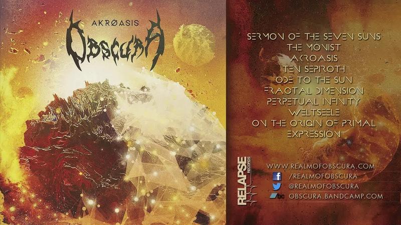 OBSCURA - Akroasis (Full Album)