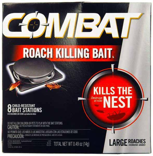 Combat Roach Killing Bait Large Roach Bait Stations