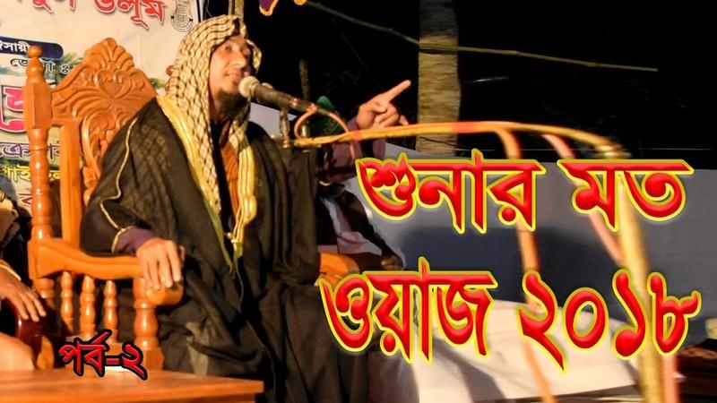 দিল ঠাণ্ডা করা নতুন ওয়াজ Bangla Waz 2018 | বাংলা নতুন ওয2492