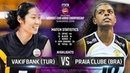 VakifBank TUR vs Praia Clube BRA Highlights FIVB Women's Club World Championships 2018
