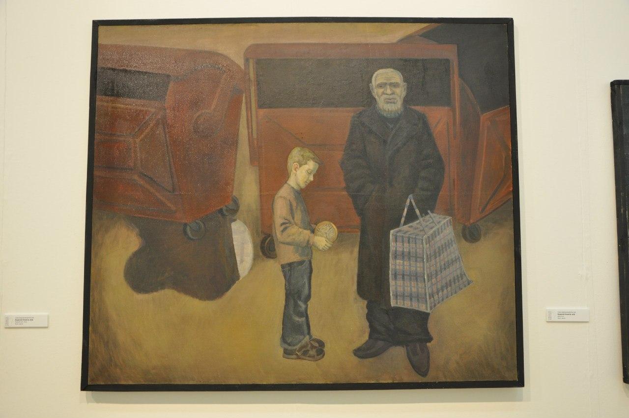 Союз художников России  Владислав Чинцов (р. 1979)  Двое. 2010  Холст, масло