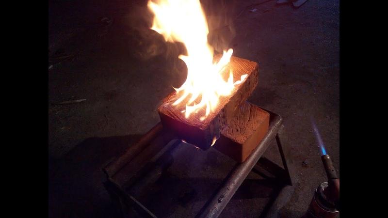 Кирпичи вместо дров как поджечь кирпич.