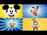 Donald Duck, Mickey Mouse, Pluto and Goofy - 4 Hours Non-Stop!