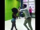 Мастер-класс по танцам в студии KLETKA. Зажигательный парный танец!