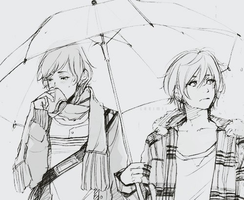 белые картинки аниме:
