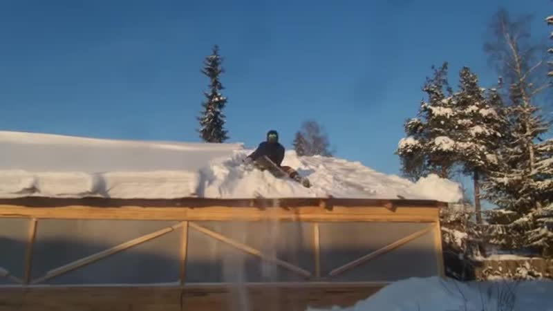 Зимняя теплица в Сибири. Часть 2 ютуб