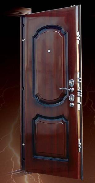 установка металлических дверей цена чехов