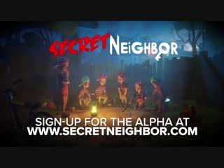 Secret Neighbor - Pumpking Gameplay [Hello Neighbor Multiplayer]