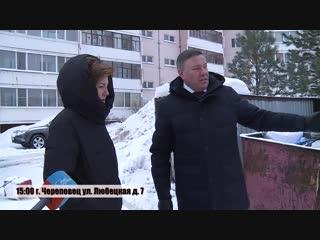 Губернатор области проверяет вывоз мусора в Череповце, Шекснинском и Череповецком районах