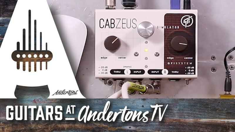 GFI System Cabzeus Stereo Speaker Simulator DI Box