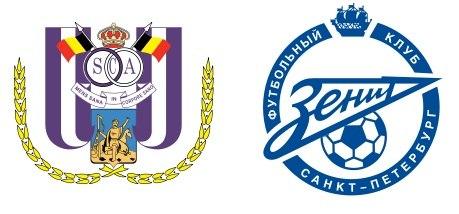 Лига чемпионов, «Андерлехт» — «Зенит». 06.11.2012. Прямая трансляция из Брюсселя