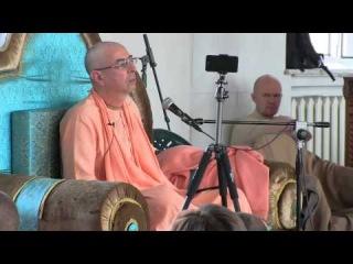 Niranjana Swami -- Spiritual authority -- Counsellors retreat in Kiev, 16-May-2014