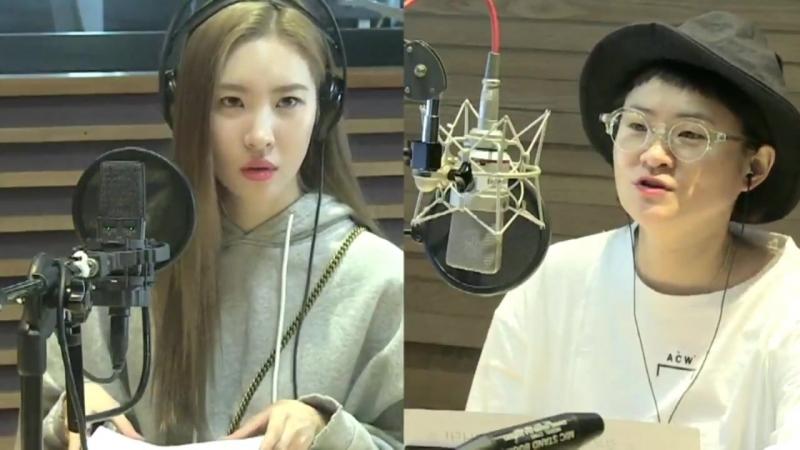 180918 Сонми на радио MBC FM4U Kim Shinyoung's Hope Song at Noon