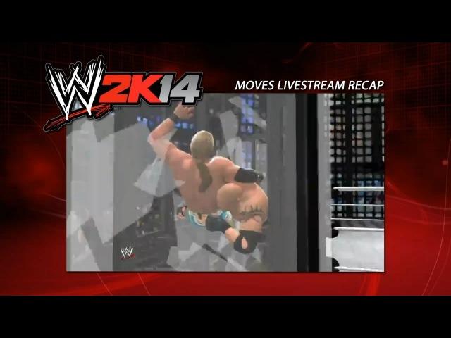 WWE 2K14: New Moves Recap Elimination Chamber OMG Moment!