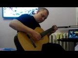 В мире животных ( Ариэль Рамирес - Странники) На блатных аккордах- Гитара (cover)