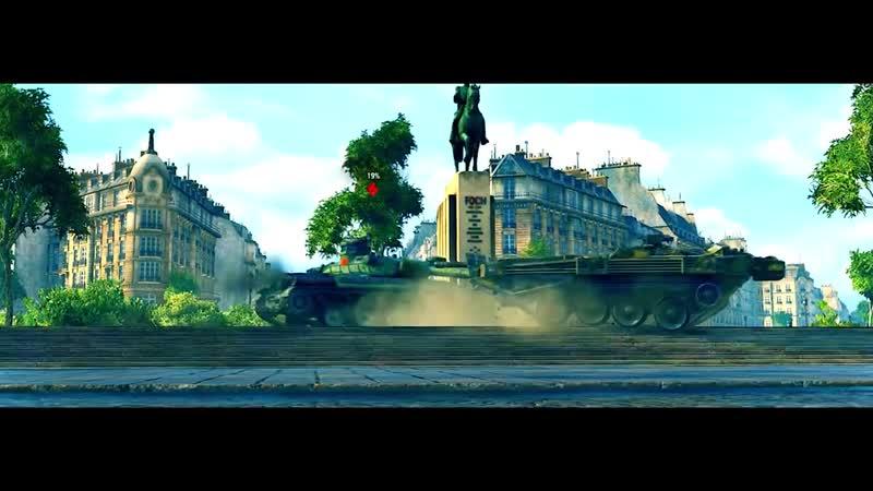 Strv 103B Muzykalnyj klip ot GrandX World of Tanks