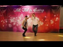Diego Jessica Free Style West Coast Swing demo 2016 Korea WCS Event Fall, Fall in Swing