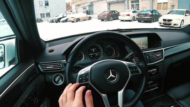 Mercedes E350 AMG с пробегом или НОВЫЙ ФОРД ФОКУС