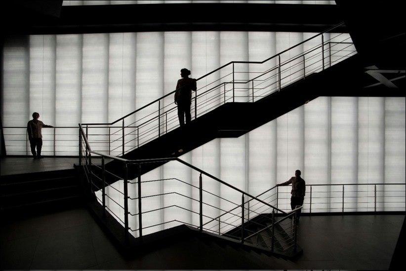 Удивительный прозрачный бетон.
