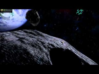 Around the asteroid in Space Engineers