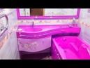 💗 Самая маленькая ванная комната 2 5 3 кв м Дизайн и отделка ванной без туалета и унитаза