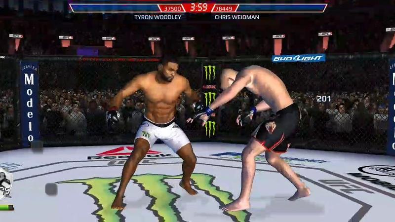 UFC mobile CE Tyron Woodley
