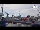 В Приморье кран упал на док