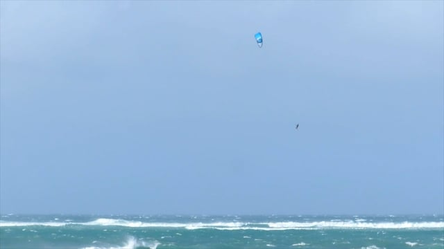 Big Boosting and Sliding at Kite Beach Maui - Kiteboarding Hawaii