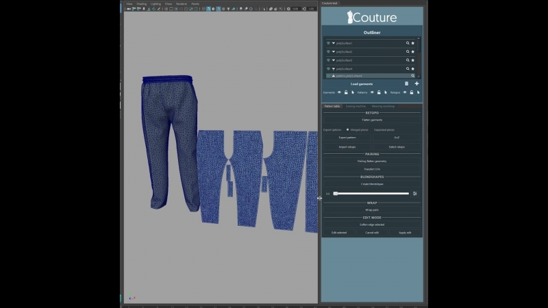 Couture for Maya Beta