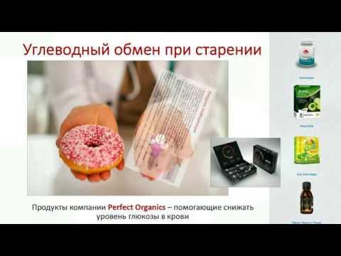 Д С Дергачев Углеводный обмен у пожилых людей
