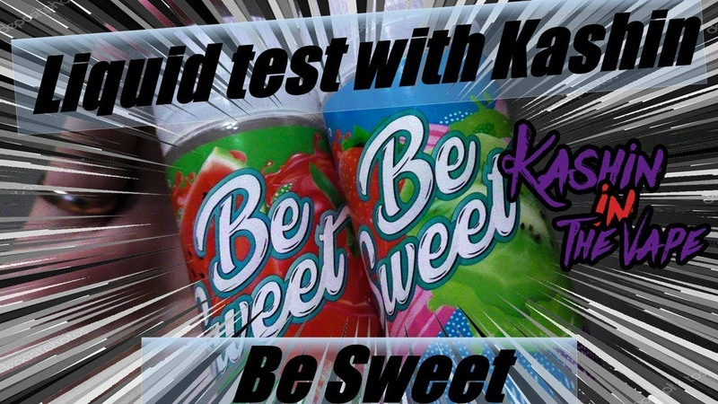 Тест жидкости с Кашином 104/Liquid test with Kashin/ Жидкость Be Sweet