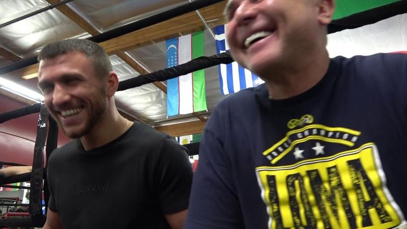 Lomachenko Full Interview Talks Khabib Jump Mikey Garcia Fight And Pedraza EsNews Boxing