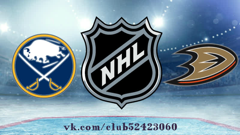 Buffalo Sabres vs Anaheim Ducks | 21.10.2018 | NHL Regular Season 2018-2019