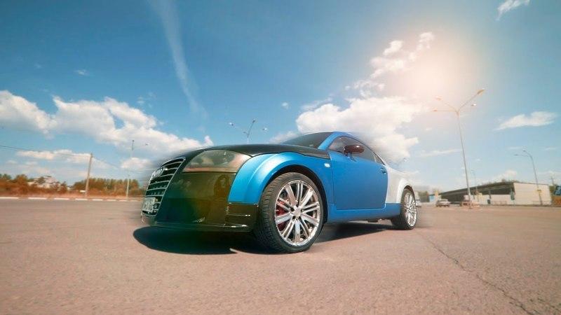 Audi TT / Что вас ждёт, если купить авто в плёнке / Из грязи в князи / часть 1.