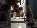 Catfight in mini skirts
