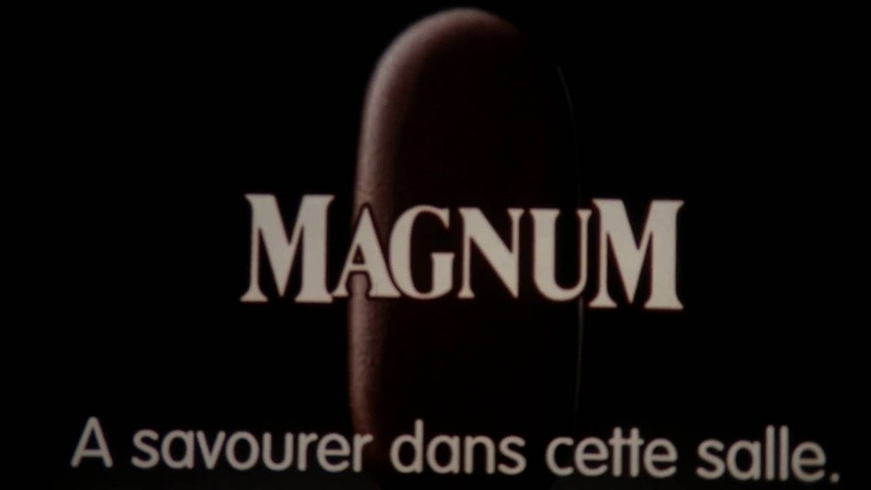 Magnum ice cream French Cinema Commercial
